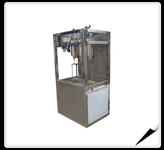 Carbonated Drinks Bottling Line  > Carbonated Drinks Filling Machine-- Sem-automatic